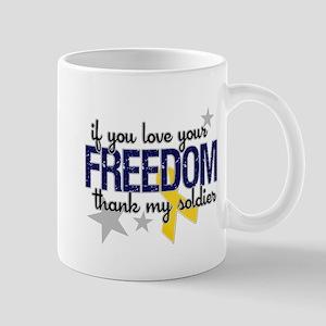 Freedom Soldier Mugs