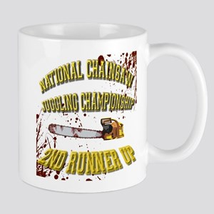Chainsaw Juggling Mug
