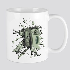 100 Dollar Blot Mug