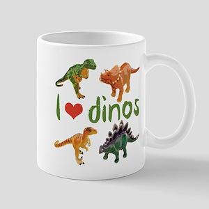 I Love Dinos 11 oz Ceramic Mug