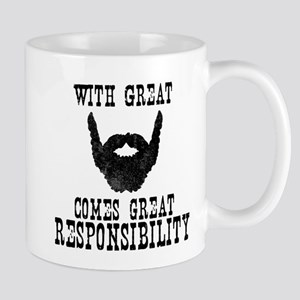 With Great Beard Comes Great Responsibility2 Mugs