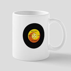 45 RPM Rock n Roll Record Mug