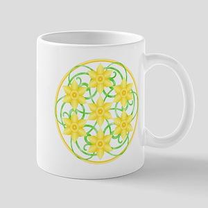Daffodil Mandala Mug
