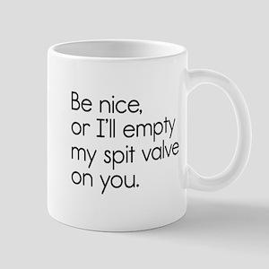 Spit Valve Mug
