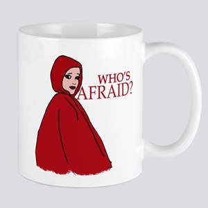 RED RIDING HOOD Who's Afraid? Mug