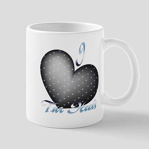 I Heart Tar Heels Mug
