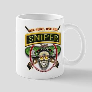 Sniper One Shot-One Kill Mug
