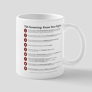 Know Your TSA Rights Mug