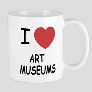 I heart art museums Mug