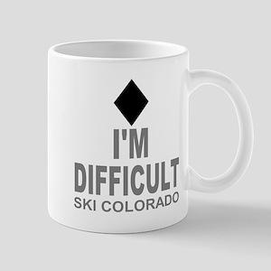 I'm Difficult Ski Colorado Mug