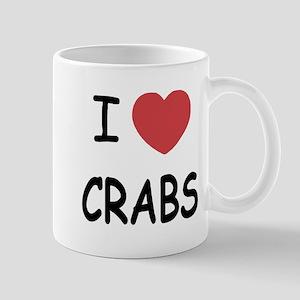 I heart crabs Mug