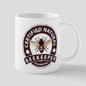 Certified Natural Beekeeper Mugs