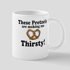 Pretzels Making Me Thirsty Mug