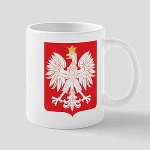 Polish Eagle Red Shield Mug