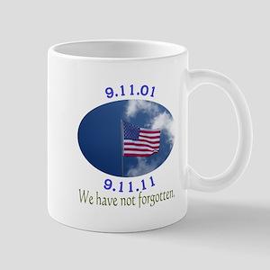 9-11 Not Forgotten Mug