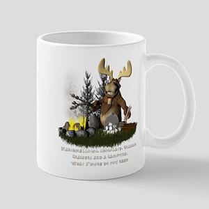 campfiremoose2 Mugs