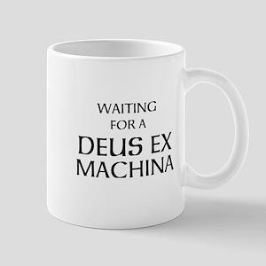 Waiting for a Deus Ex Machina Mug