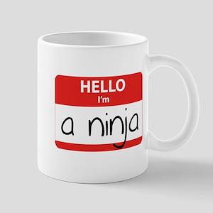 Hello I'm a Ninja Mug