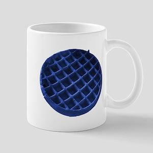 Blue Waffle Mug