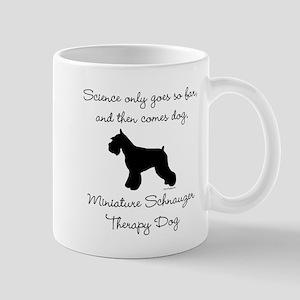 Mini Schnauzer Therapy Dog Mug