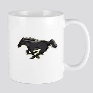 Mustang Running Horse Mug