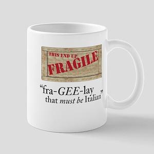 fragile copy Mugs