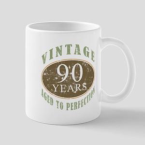 Vintage 90th Birthday Mug