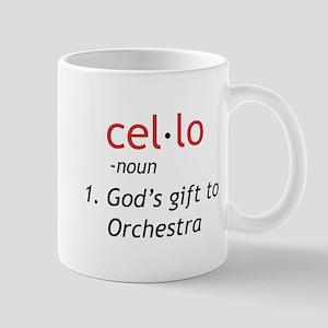 Cello Definition Mug