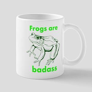 Frogs Are Badass Mug