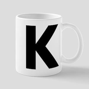 Letter K Mug