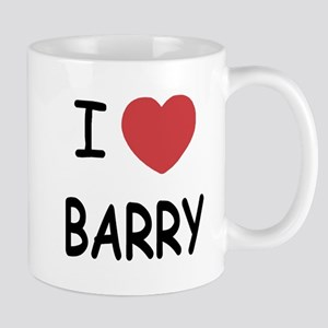 I heart barry Mug