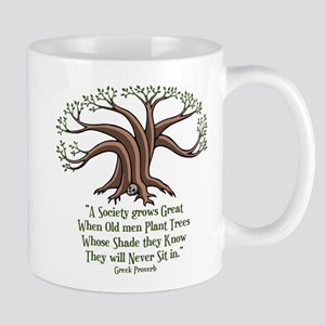 Greek Trees Mug