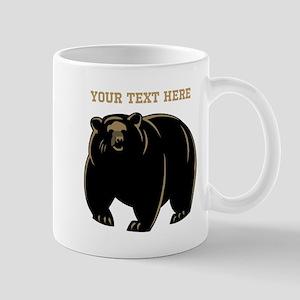 Big Bear with Custom Text. Mug