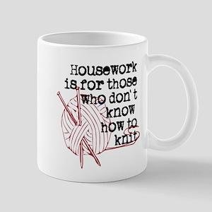 SYE Knitting Large Mugs