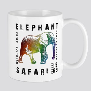 Elephant Safari Mug