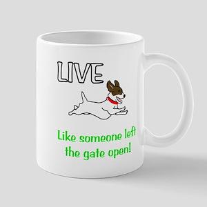 Live the gates open Mug