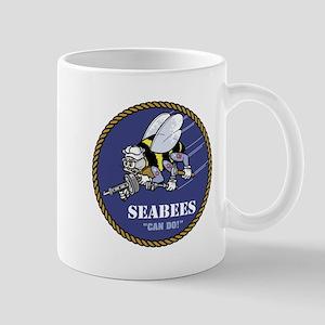 USN Seabees Official Mug
