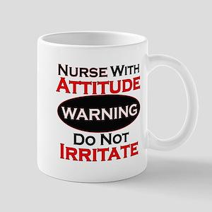 Attitude nurse copy Mugs