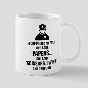 A cop pulled me over ... Mug