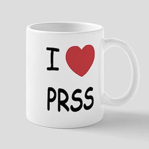 I heart PRSS Mug