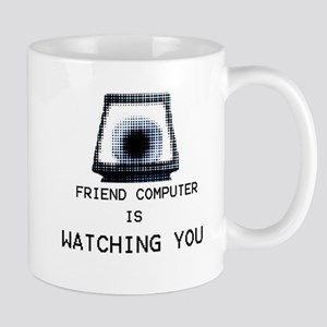 Paranoia RPG Friend Computer is Watching You Mug