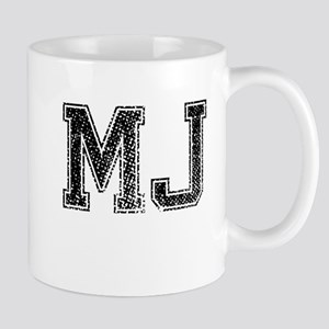MJ, Vintage Mug
