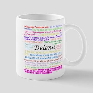 Delena Quotes Mug