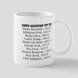 Green Mountain Top Ten Mug