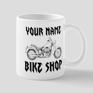 Custom Bike Shop Mug