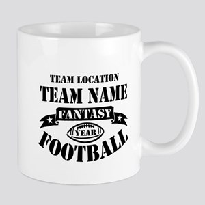 Your Team Fantasy Football Black Mug