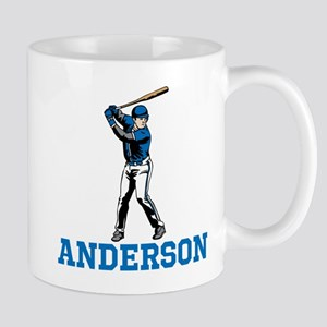 Personalized Baseball Mug