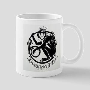Laughing Monkey Burning Man Logo 2012 Mug