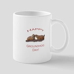 Groundhog Day Kiss Mug