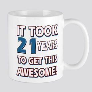 21 Year Old birthday gift ideas Mug